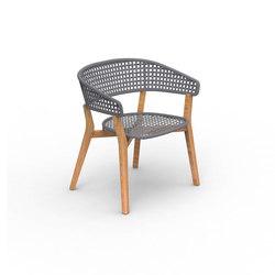 Moon Teak | Padded Tub Chair | Gartenstühle | Talenti