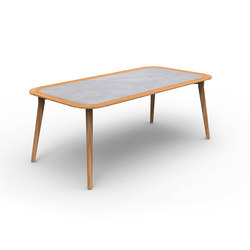 Moon Teak | Dining Table 200X100 | Dining tables | Talenti