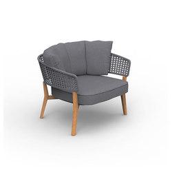 Moon Teak | Living Armchair | Poltrone da giardino | Talenti
