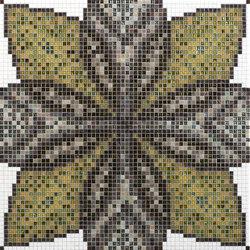 Botanic Tale 10x10 Cufra | Glass mosaics | Mosaico+