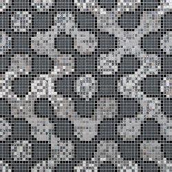 Koke Black | Glass mosaics | Mosaico+