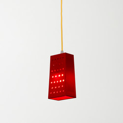 Cacio&pepe S red | Suspended lights | IN-ES.ARTDESIGN