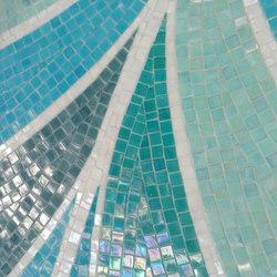 Botanic Tale Charming Petal | Glass mosaics | Mosaico+