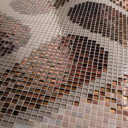 Botanic Tale 10x10 Puranto | Glass mosaics | Mosaico+