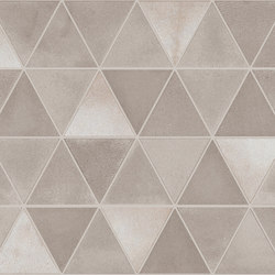 Medley Campitura Origami _03greige | Ceramic tiles | Ceramiche Supergres