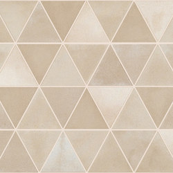 Medley Campitura Origami _01sugar | Baldosas de cerámica | Ceramiche Supergres
