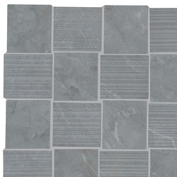 Purity Imperial Grey Intreccio Decorato LUX | Ceramic tiles | Ceramiche Supergres