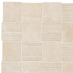 Purity Royal Beige Intreccio Decorato LUX | Ceramic tiles | Ceramiche Supergres