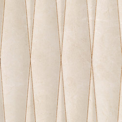 Purity Royal Beige Struttura Net Glitter Rame | Ceramic tiles | Ceramiche Supergres