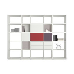 basic view Shelf system | Estantería | werner works
