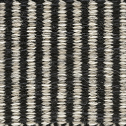 Häggå Markus | Stripes 981 Almost Black Winter-Landscape 9537-9835 | Rugs | Kasthall