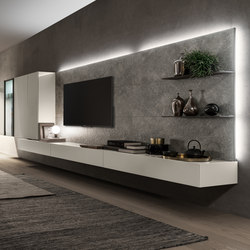 I-modulART_360 | Wall storage systems | Presotto