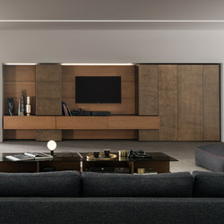 I-modulART_362 | Wall storage systems | Presotto