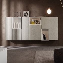 I-modulART_368 | Wall storage systems | Presotto