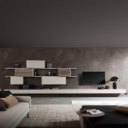 InclinART_369 | Wall storage systems | Presotto