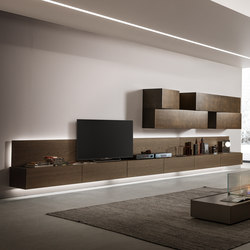 InclinART_372 | Wall storage systems | Presotto