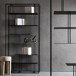 Tower bookcase | Shelving | Presotto