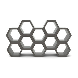 Hexa | Library shelving | Slide
