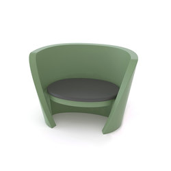 Rap Chair | Poltrone lounge | Slide