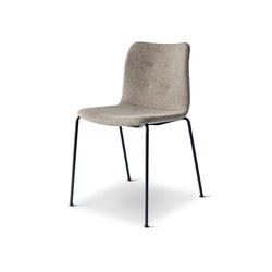 Primum Chair regular black base | Visitors chairs / Side chairs | Bent Hansen