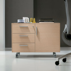 Cassettiere | Caissons mobiles pour bureaux | ALEA