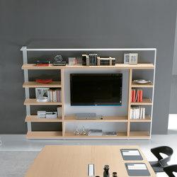 Liberie Archimede | Büroregalsysteme | ALEA