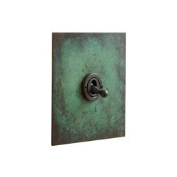Verdigris dolly switch | Interruttori leva | Forbes & Lomax