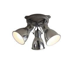 Stirrup Triple Ceiling Light, Aluminium | Éclairage général | Original BTC