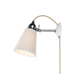 Hector Medium Pleat Wall Light, PSC | Wandleuchten | Original BTC