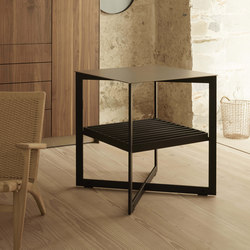 b Solitaire stainless steel | Side tables | bulthaup