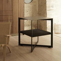 b Solitaire in acciaio inox | Tavolini alti | bulthaup