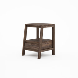Circa17 SIDE TABLE WITH DRAWER | Mesas auxiliares | Karpenter