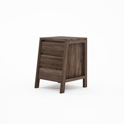 Circa17 SIDE TABLE WITH THREE DRAWERS | Tavolini alti | Karpenter