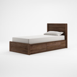 Circa17 SINGLE SIZE BED SOLID HEADBOARD | Testiere di letto | Karpenter