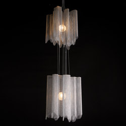 A Peal | 2 Tier 500 S | Suspended lights | Willowlamp