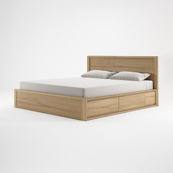 Circa17 KING SIZE BED SOLID HEADBOARD | Testiere di letto | Karpenter