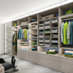 Ecoline interior system Walk-in-closet | Dressings | raumplus