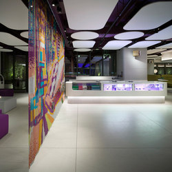 Space Divider Straight Hall | Tele metallo | Kriskadecor