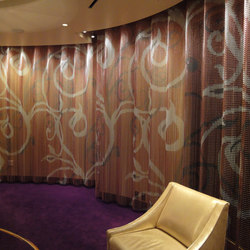 Space Divider Undulated Hotel | Tele metallo | Kriskadecor