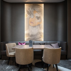Wallcovering Fixed Hotel | Toiles métalliques | Kriskadecor