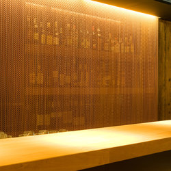 Wallcovering Mobile | Metal weaves / meshs | Kriskadecor