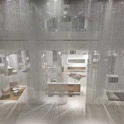 Ceiling Rainy Effect | Metal meshes | Kriskadecor