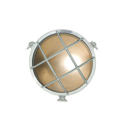 7028 Brass Bulkhead with Internal Fixing Points, Chrome Plated | Wall lights | Original BTC