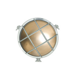 7027 Brass Bulkhead with Internal Fixing Points, Chrome Plated | Wall lights | Original BTC