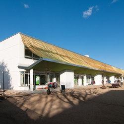 Cladding Exterior School | Metal meshes | Kriskadecor