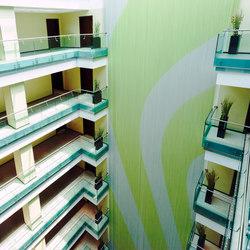 Cladding Interior Hotel | Metal meshes | Kriskadecor