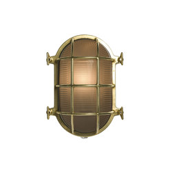 Oval Brass Bulkhead with Internal Fixing Points Chrome Plate | General lighting | Original BTC