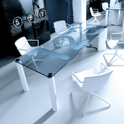ICON meeting table | Mesas contract | IVM