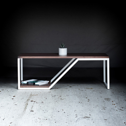 Doppio Walnut | Coffee tables | Harkavy Furniture