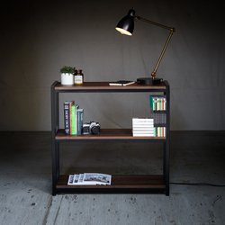 Bookshelf Walnut | Shelving | Harkavy Furniture